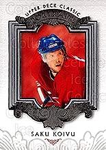 (CI) Saku Koivu Hockey Card 2003-04 UD Classic Portraits (base) 50 Saku Koivu