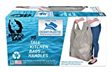 Hippo Sak Recycled Tall Kitchen Bags Made with OceanBound Plastic (90 count)