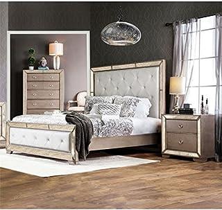 Amazon Com Bedroom Sets Silver Bedroom Sets Bedroom Furniture Home Kitchen