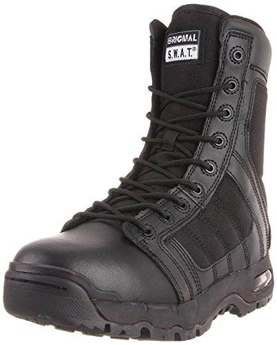 Original S.W.A.T. Men's Metro Air 9 Inch Side-zip Tactical Boot, Black, 4 D US