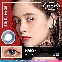 Glam up グラムアップ カラコン Mars-1 マーズワン 1day 10枚入り 度あり 度なし (0.00)
