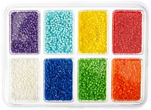 Perler Mini Beads Fused Bead Mini perline, 8000 pezzi, 8 colori
