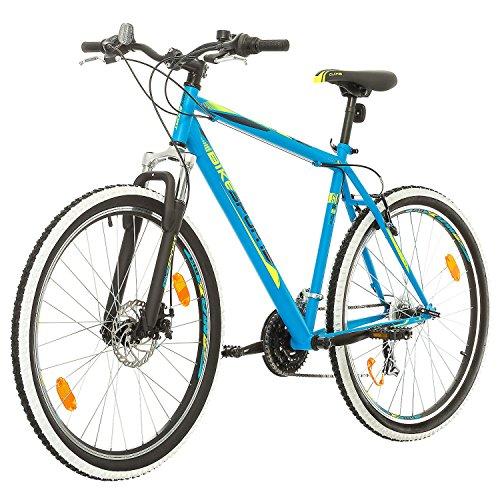 BIKE SPORT LIVE ACTIVE 27,5 Zoll Bikesport Thunder Herren Fahrrad MTB Mountainbike Hardtail Shimano 21 Gang (Blau matt, XL) - 5