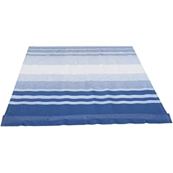 Amazon Com Aleko Rvfab10x8blstr32 Rv Awning Fabric Replacement 10 X 8 Feet Blue Striped Home Kitchen