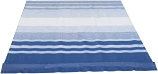 ALEKO RVFAB16X8BLSTR32 RV Awning Fabric Replacement 16 x 8 Feet Blue Striped