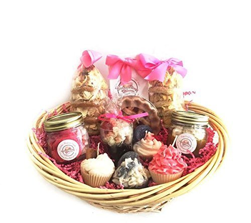 Candle Set Sweet Tooth Gift Basket - Cupcake and Dessert Candle Set
