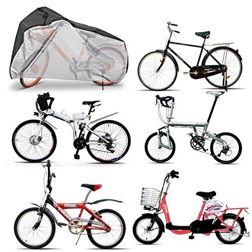 LIHAO Fahrradabdeckung Wasserdicht 190T Fahrradgarage Fahrrad Schutzhülle - 2