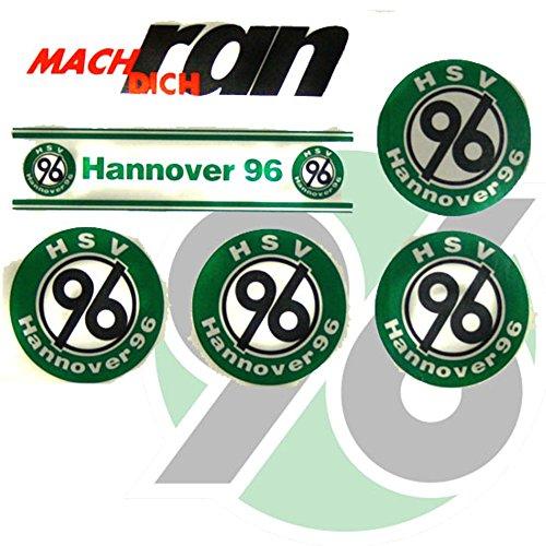 H96 Hannover 96 Aufkleber/Sticker/Gesichtaufkleber FCB Etiqueta engomada/autocollant