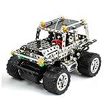 Coche Teledirigido para Montar Rc Jeep Metalico (306 Piezas)   Kit Juego de Construcción Coche...