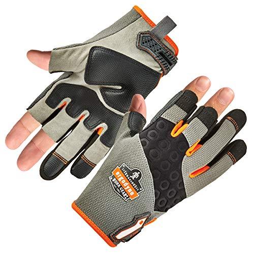 ProFlex 720 Framer Work Glove, High Dexterity, Padded Palm, Large