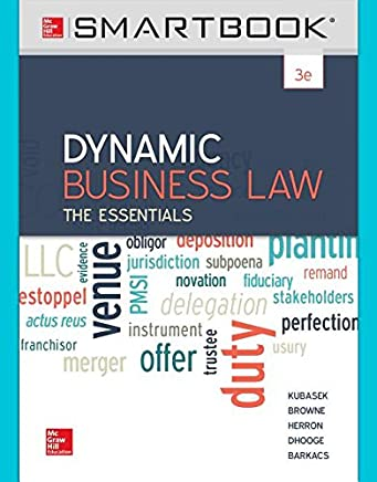Dynamic Business Law Smartbook Access Card: The Essentials