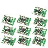 DAOKI 10PCS Digital DC 5V Amplifier Board Class D 23W USB Power Mini PAM8403 Audio Module