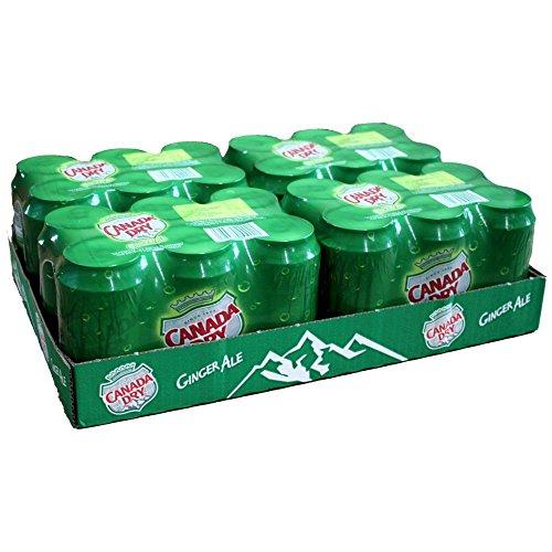 Canada Dry Ginger Ale 4 Pack á 6 x 0,33l Dose IMPORT (24 Dosen eingeschweißt)
