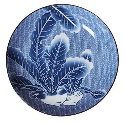 Bcanju Japanisches Geschirr Keramik Schüssel Nudeln Schüssel Rettich 6 Zoll