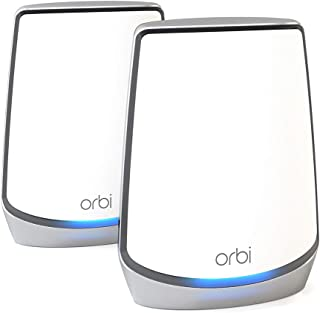 NETGEAR Orbi Whole Home Tri-Band Mesh WiFi 6 System (RBK852) – Router With 1 Satellite Extender | Coverage Up to 5,000 sq....