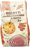 Fior di Loto Biscotti con Fiocchi di Avena e Frutta - 350 gr...