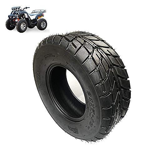 Neumáticos de scooter eléctrico, neumáticos de kart / ATV 21x7-10, neumáticos sin cámara antideslizantes resistentes al desgaste de 10 pulgadas, patrón de banda de rodadura de doble propósito para c