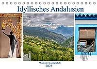 Idyllisches Andalusien (Tischkalender 2022 DIN A5 quer): Kleine Doerfer in den Bergen, blumengeschmueckte Gassen, wenig bekannte Ecken im Sueden Spaniens (Monatskalender, 14 Seiten )