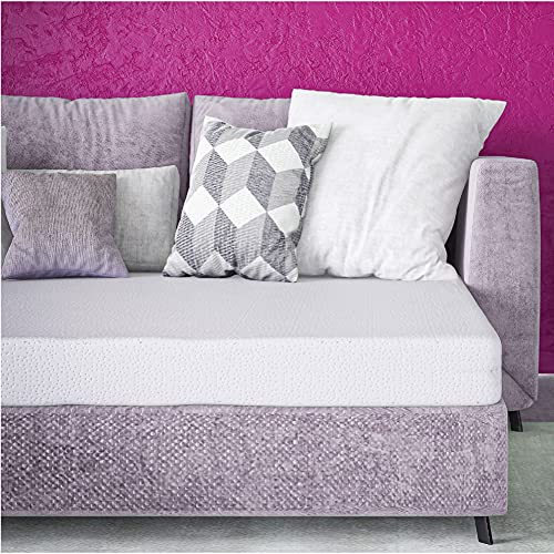 Classic Brands 4.5-Inch Memory Foam Replacement Mattress for...