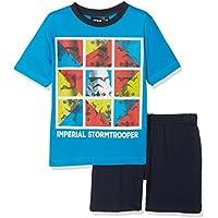 Star Wars The Force Awakens Conjuntos de Pijama, Turquoise (Turquo 800), 6 años para Niñas