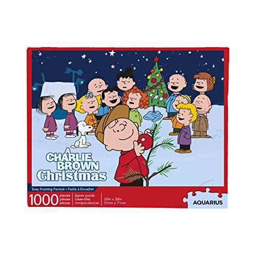 AQUARIUS Charlie Brown Christmas 1000 Pc Jigsaw Puzzle -  65326