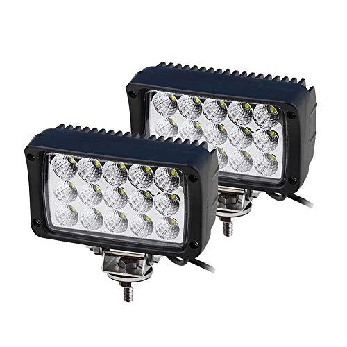 WELLIT 2x45w Led Arbeitsscheinwerfer Flutlicht Reflektor Worklight Scheinwerfer Arbeitslicht Offroad 12v 24v