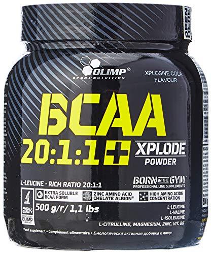 Olimp Nutrition BCAA 20:1:1 Xplode, Cola, 1 kg