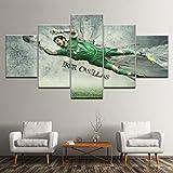 Angle&H Modular Sport Leinwand Gemälde Hintergründe Iker