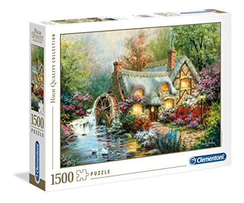 Clementoni Puzzle 1500 Piezas Country Retreat, Color (31812.4)