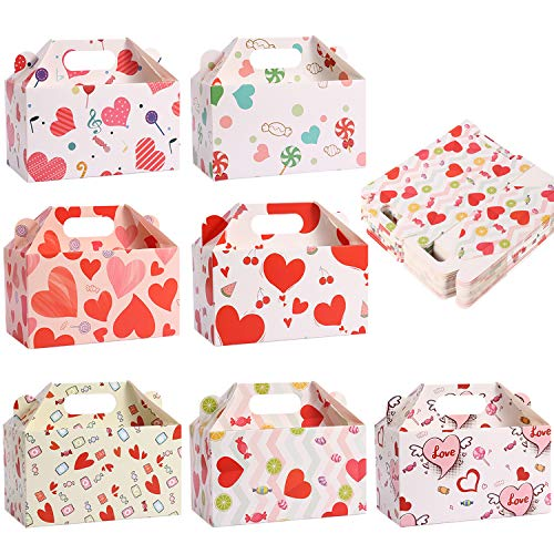 Valentine's Treat Boxes Gift Bags