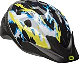 Bell 7084243 Child Rally Bike Helmet - Lightning Black & Yellow