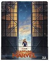 キャプテンマーブル 限定スチールブック仕様 [3D + 2D Blu-ray リージョンフリー ※日本語無し] (輸入版) -Captain Marvel (3D+2D Blu-Ray) steelbook-