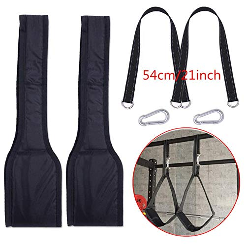 IDJ Sling Straps Gym Equipment for Home Fitness Klimmzugstange Bauchmuskeltraining Suspension Belt in horizontaler Stange Mit 54 cm langem Seil