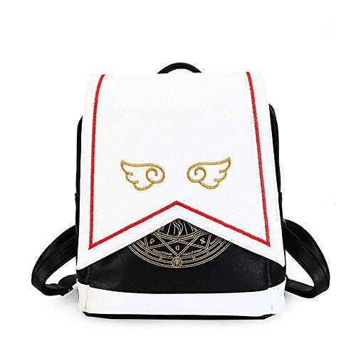 Girl Magic Circle Cute Lolita Anime Cardcaptor Sakura Cosplay Backpack