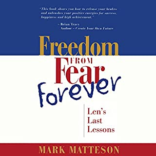 Freedom from Fear Forever audiobook cover art