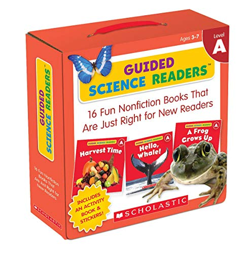 Compare Textbook Prices for Guided Science Readers Parent Pack: Level A: 16 Fun Nonfiction Books That Are Just Right for New Readers ACT BOX CS Edition ISBN 9780545650922 by Charlesworth, Liza