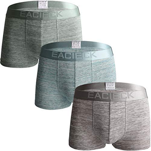 FZmix Bóxers para Hombres, Pack de 2 o 4,Ropa Interior de algodón Suave y cómoda