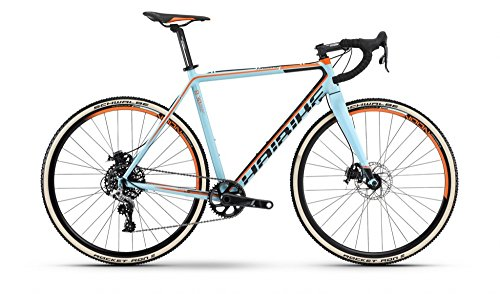 Haibike Noon 8.30 28 Zoll Cyclocross Türkis/Schwarz/Orange (2016), 54