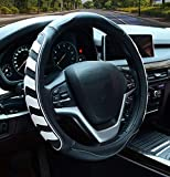 Car Steering Wheel Cover with Durable PU...