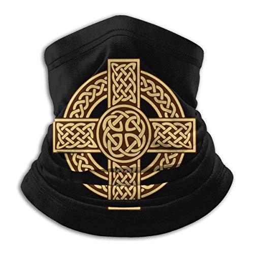 Pañuelos unisex con diseño de cruz celta irlandesa, escocesa, para deportes al aire libre