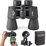 10X 50 Binoculars Smartphone Adapter Kit for Adults and Kids -for Bird Watching