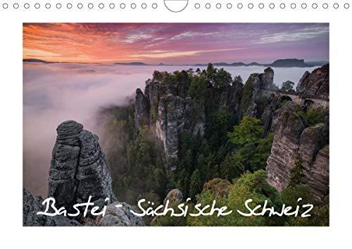Bastei - Sächsische Schweiz (Wandkalender 2021 DIN A4 quer)