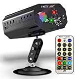 Party Lights Disco Lights GEELIGHT Sound Activated DJ Light with Remote Control Mini Stage Lights Strobe...