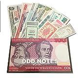 IMPACTO COLECCIONABLES Billetes del Mundo Colección de Billetes - Los 11 Billetes más extraños del Mundo