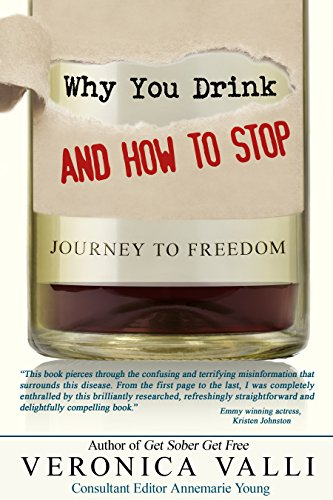 Book: Why you drink and How to stop - Journey to freedom by Veronica Valli