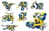 Kit de Robótica Solar Multibots | Podrás Montar 11 Robots Diferentes | Juguetes Robótica para Niños