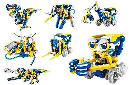 RC Tecnic Solar-Roboter-Set Multibots | Sie können 11 Robots montieren | Roboterspielzeug für Kinder