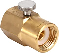 Soda Fles CO2 Connector Messing Huishoudelijke Adapter voor het Vullen W21.8 naar G1/2 Watercilinder Opblaasbare Joint Turn