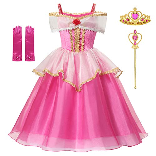 DOCHEER Princess Dress Up Blue Costume Halloween Party Dresses