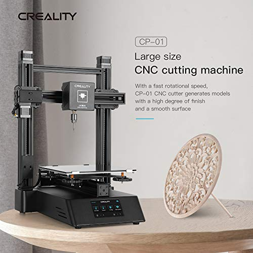 Creality CP-01 3 in 1 3D Printer with Laser Engraving, CNC Cutting, 4.3 Inch Touch Screen for Hobbyists, Designers and...